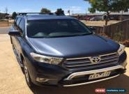 2010 Toyota Kluger GSU45R Grande Wagon 7st 5dr Spts Auto 5sp AWD 3.5i [MY11] for Sale